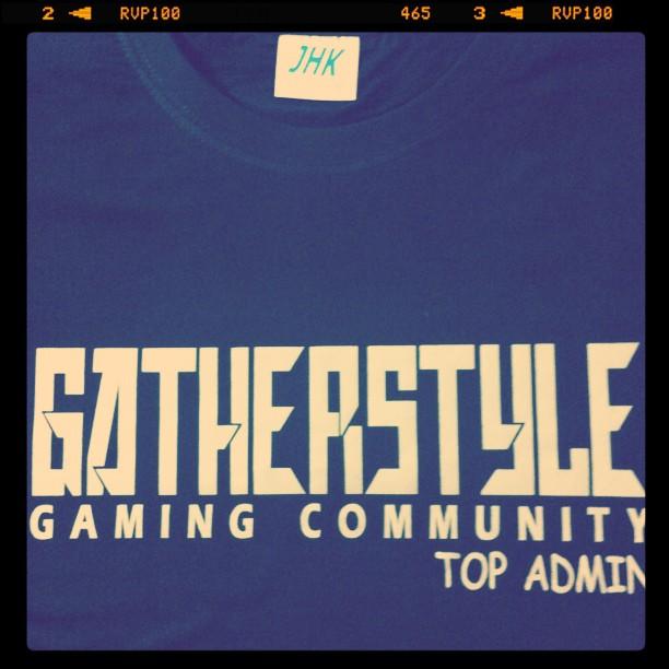 Gatherstyle t-shirt